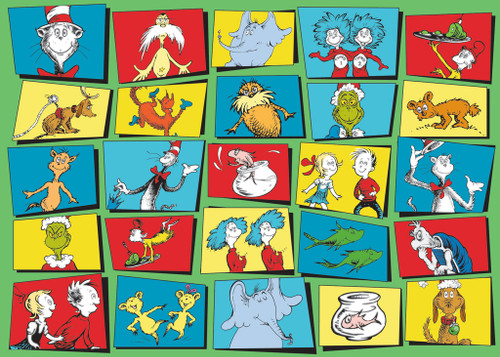 Dr. Seuss Characters - 35pc Jigsaw Puzzle By Ravensburger