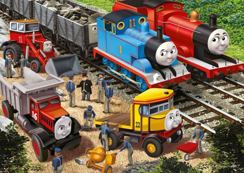 Thomas & Friends: Making Repairs - 35pc Jigsaw Puzzle by Ravensburger