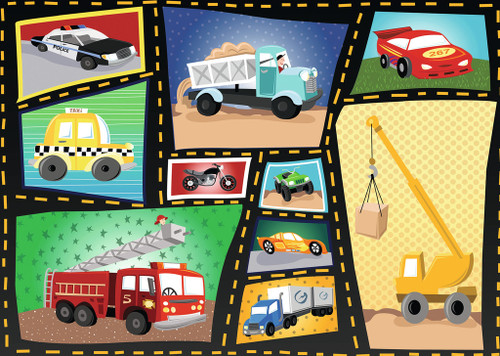 Tires & Engines - 35pc Jigsaw Puzzle by Ravensburger (discon)