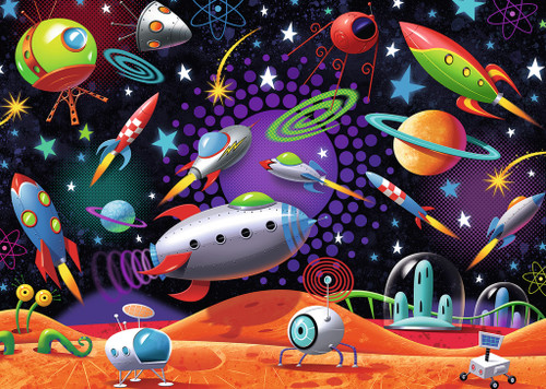 Space - 35pc Jigsaw Puzzle by Ravensburger