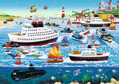 Happy Harbor - 35pc Jigsaw Puzzle By Ravensburger