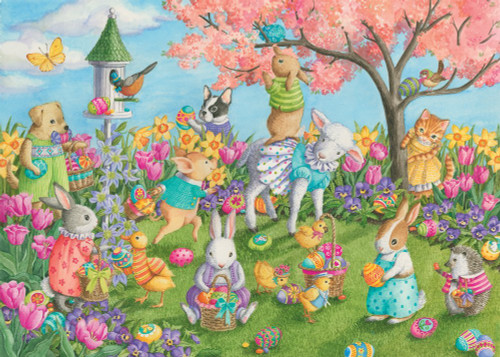 Egg Hunt - 35pc Jigsaw Puzzle by Ravensburger