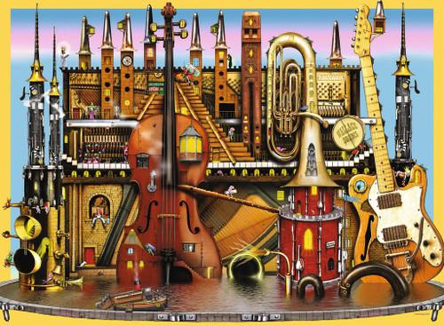 Music Castle - 100pc by Ravensburger (discon)