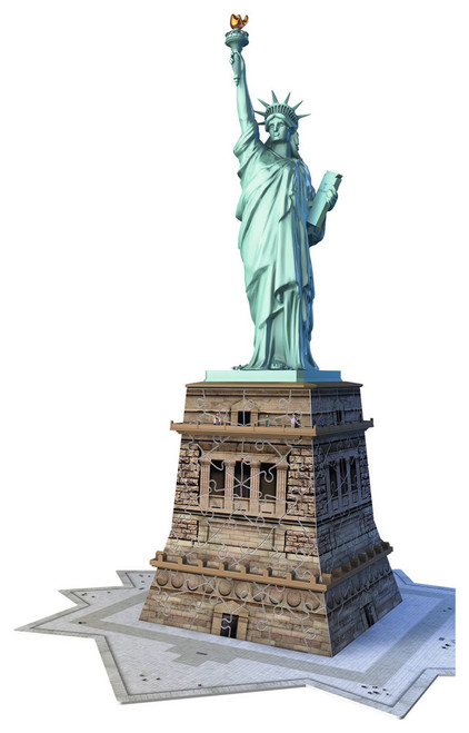 Statue of Liberty - 108pc 3D Puzzle by Ravensburger