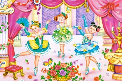 Little Ballerinas - 70pc Jigsaw Puzzle By Castorland (discon-23959)