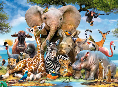 Ravensburger African Animals Puzzle