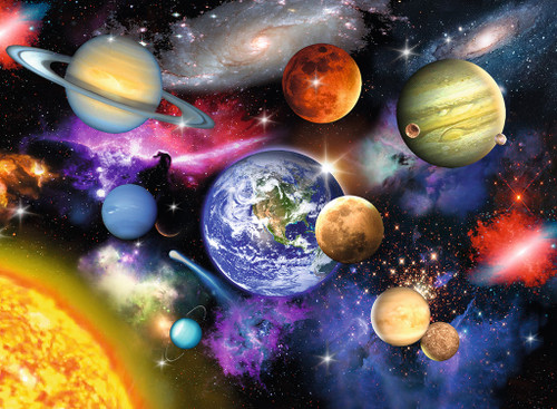 Solar System - 300pc Jigsaw Puzzle By Ravensburger
