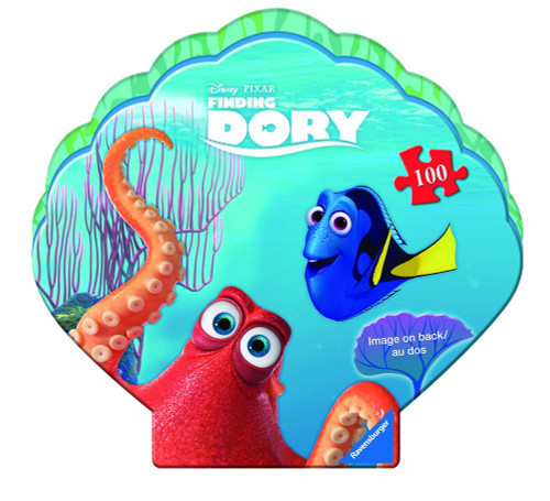 Finding Dory - 100pc Jigsaw Puzzle in Clam Shaped Box By Ravensburger