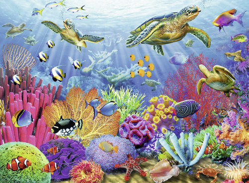 Ravensburger Tropical Waters Jigsaw Puzzle