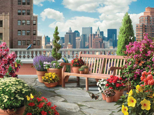 Ravensburger Large Format Jigsaw Puzzles - Rooftop Garden