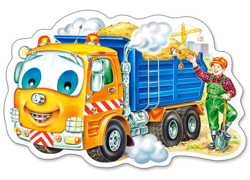 Little Sand Truck - 15pc Jigsaw Puzzle By Castorland (discon-23969)