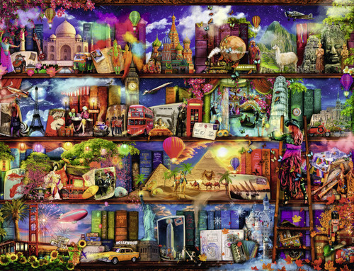 Ravensburger World of Books Jigsaw Puzzle