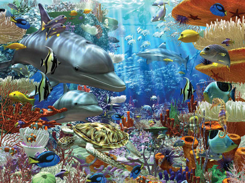 Jigsaw Puzzle - Oceanic Wonders