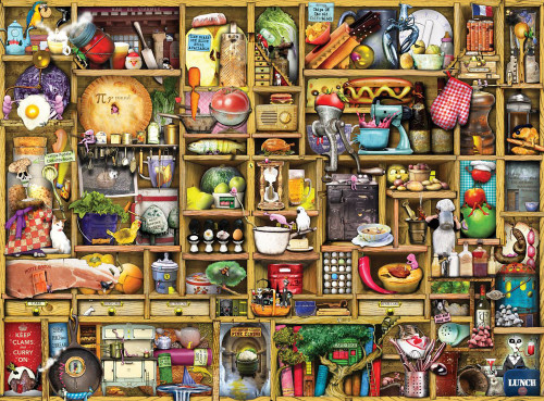 Ravensburger Jigsaw Puzzle - Kitchen Cupboard - 1,000 pieces