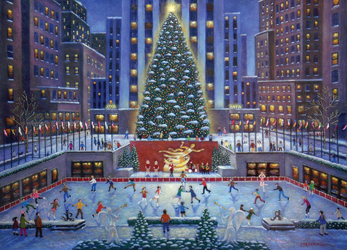 Rockefeller Center - 1000pc Jigsaw Puzzle by Ravensburger