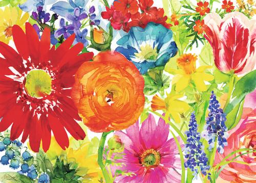 Abundant Blooms - 1000pc Jigsaw Puzzle By Ravensburger