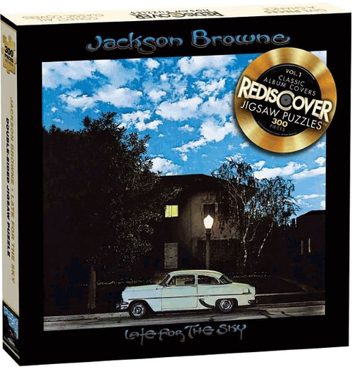 Rediscover Double-Sided Jigsaw Puzzle   Jackson Browne