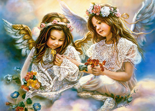 Gift from an Angel - 180pc Jigsaw Puzzle By Castorland (discon)
