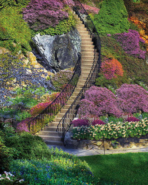 Springbok Jigsaw Puzzles - Garden Stairway