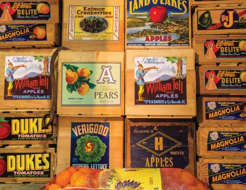 Springbok Vintage Labels Jigsaw Puzzle