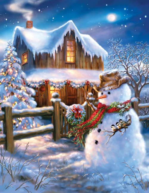 The Country Christmas - 500pc Jigsaw Puzzle By Springbok