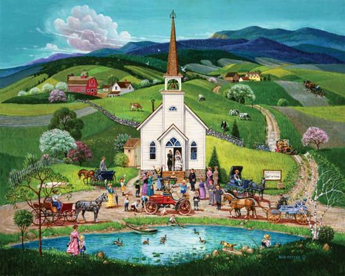 Spring Wedding - 100pc Jigsaw Puzzle By Springbok