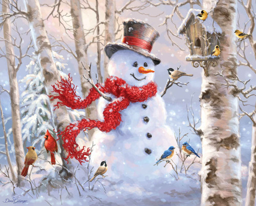 Winter Friends - 1000pc Jigsaw Puzzle By Springbok