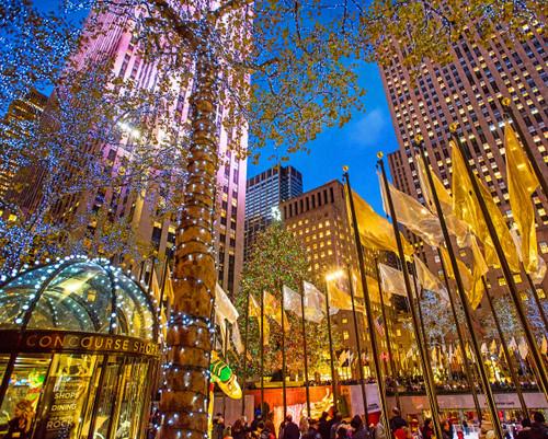 Rockefeller Center - 1000pc Jigsaw Puzzle By Springbok