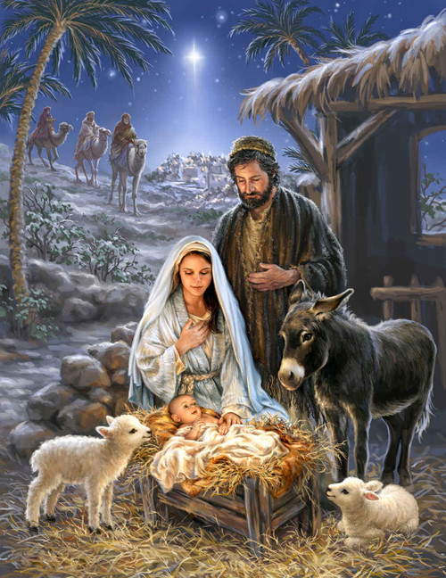 Savior is Born - 1000pc Jigsaw Puzzle By Springbok
