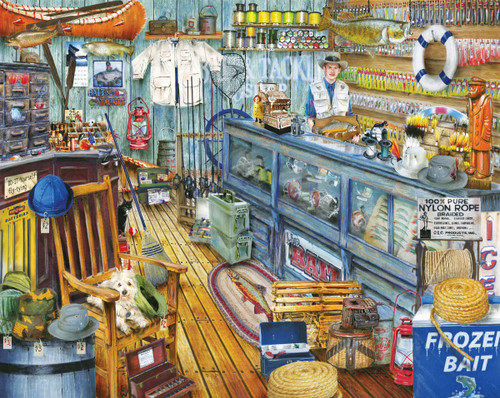 The Bait Shop - 1000pc Jigsaw Puzzle By Springbok