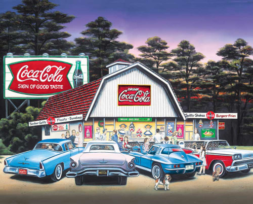 Springbok CC-Night on the Town Jigsaw Puzzle