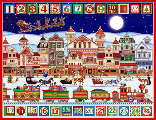And to all a Good Night - 400pc Jigsaw Puzzle By Springbok