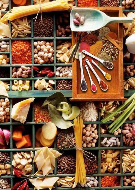 Kitchen Potpourri - 1000pc Jigsaw Puzzle by Schmidt