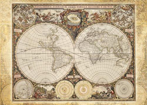 Schmidt Historical World Map Jigsaw Puzzle
