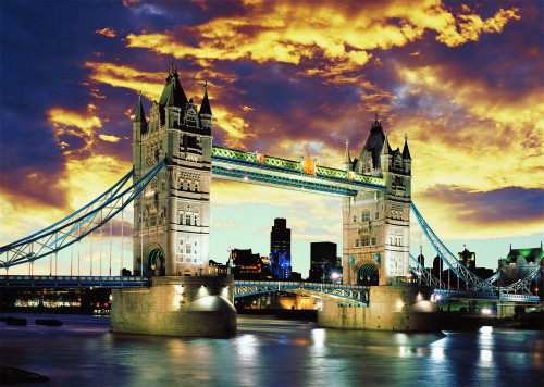 Schmidt Tower Bridge, London Jigsaw Puzzle