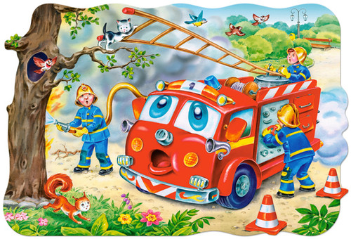 Fire Brigade - 20pc Jigsaw Puzzle By Castorland (discon-24005)