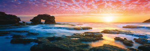 Schmidt Bridgewater Bay Sunset Panoramic Jigsaw Puzzle