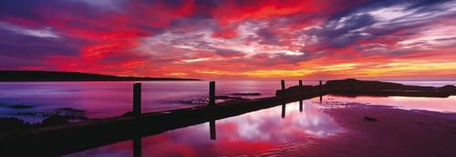 Schmidt Eden Sea Baths Panoramic Jigsaw Puzzle