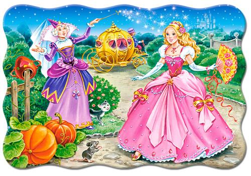 Cinderella - 20pc Jigsaw Puzzle By Castorland (discon-24014)