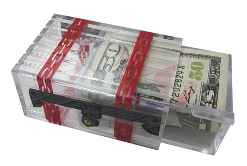 Money Puzzle - Seriously Secret Treasure Box