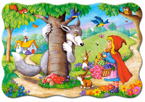 Little Red Riding Hood - 20pc Jigsaw Puzzle By Castorland (discon-24016)