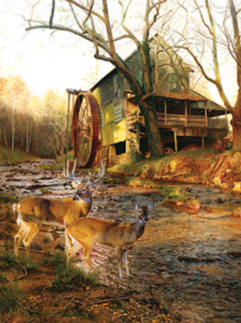 Mill Creek Cross - 1000pc Jigsaw Puzzle By Sunsout
