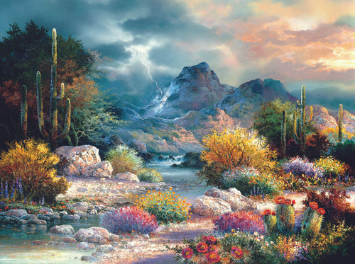 Springtime Valley Jigsaw Puzzle