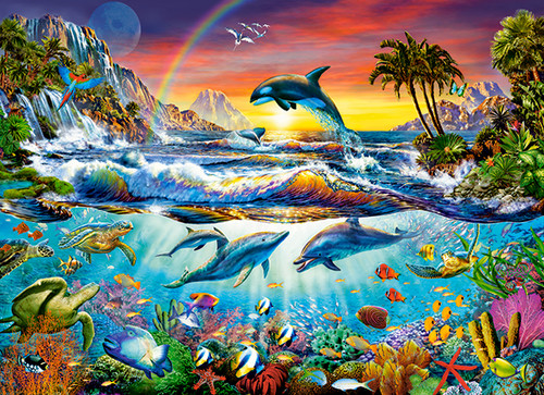Paradise Cove - 300pc Jigsaw Puzzle By Castorland