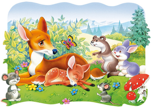 Little Deer - 30pc Jigsaw Puzzle By Castorland (discon-24035)