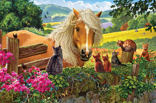 New Neighbors - 100pc Jigsaw Puzzle by SunsOut