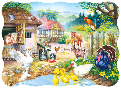 Farm - 30pc Jigsaw Puzzle By Castorland (discon-24037)