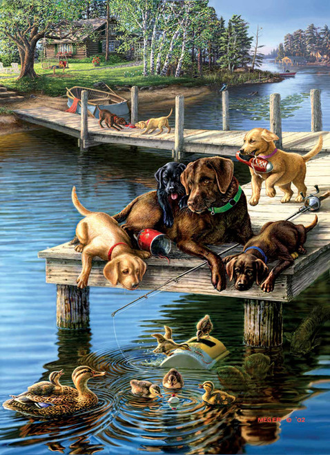 Large Format Jigsaw Puzzles - Summer School