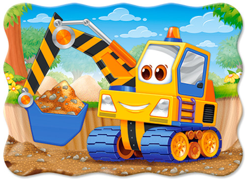 Yellow Digger - 30pc Jigsaw Puzzle By Castorland (discon-24041)