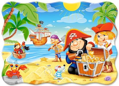 Pirate Treasure - 30pc Jigsaw Puzzle By Castorland (discon-24042)